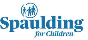 Logo with kids for Spaulding for Children